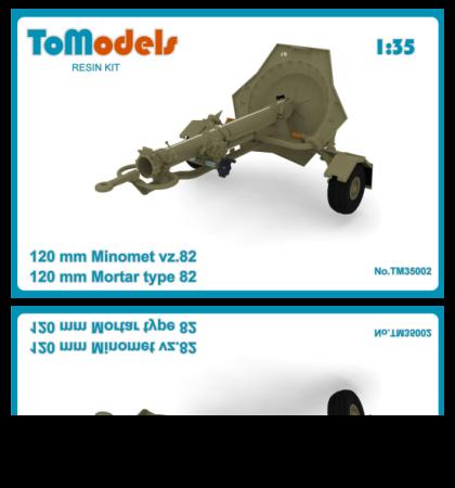 TO MODELS 120mmMinometvz82eshop